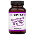 Pantothenic Acid 500 mg (B-5) Caps
