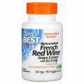 Resveratrol French Red Wine Grape Extract 60 mg