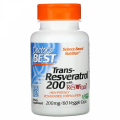 Trans-Resveratrol 200 mg with Resvinol