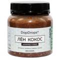 Паста Лён Кокос (шоколад, стевия)