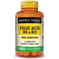 Folic Acid B6 & B12