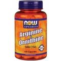 Arginine & Ornithine 500/250 mg