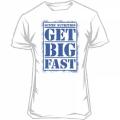 Футболка Get Big Fast (белая)