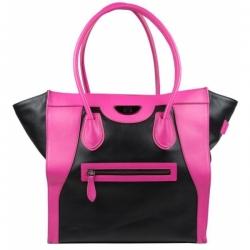 Сумка Victoria Elite Tote (чёрная/розовая)
