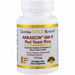 Ankascin 568-R Red Yeast Rice