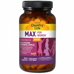 MAX for Women Iron Free