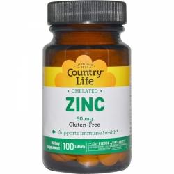 Zinc 50 mg Chelated