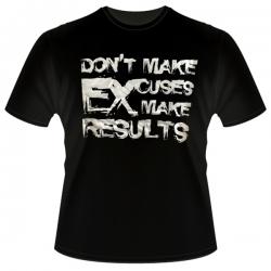 Футболка Don't Make Excuses