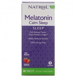 Advanced Melatonin Calm Sleep 6 mg