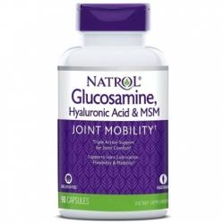 Glucosamine, Hyaluronic Acid & MSM