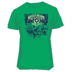 Футболка Muscle Machine Green